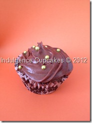 Chocolate with chocolate cream cheese frosting (6)
