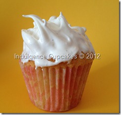 Vanilla with marshmallow frosting (3)