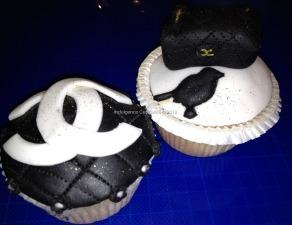 Designer cupcakes - Chanel