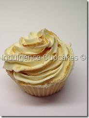 Vanilla cupcake with a twist